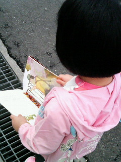 幼稚園への道