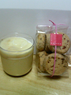 harukoのプリン&クッキー