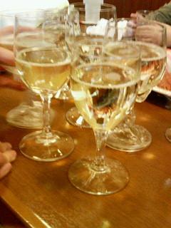 新年に乾杯♪